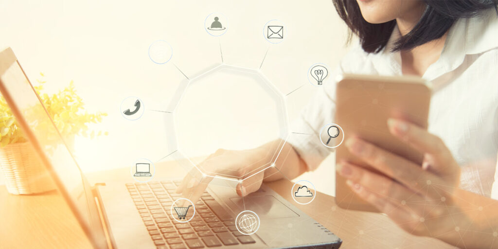 E-commerce compra electrónica